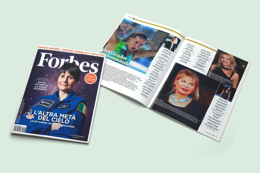 Antonella Cinotti tra le 100 donne italiane di maggior successo nel 2019 secondo la rivista Forbes.